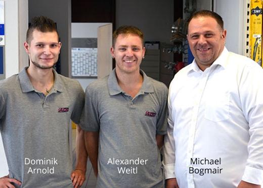 ACR Autoteile GmbH - Dominik Arnold, Alexander Weitl, Michael Bogmair